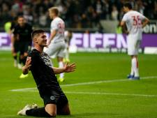 Jovic met vijf goals de grote man bij monsterzege Frankfurt