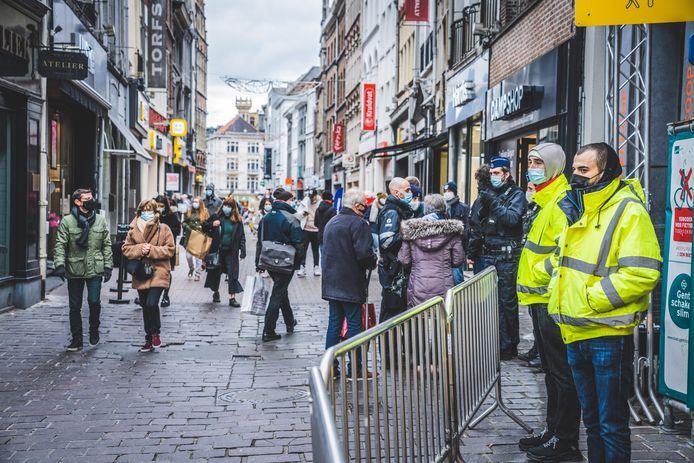 Het was zaterdag gezellig druk in Gent.