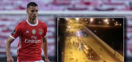 Spelers Benfica gewond na aanval op spelersbus: 'Een criminele actie'
