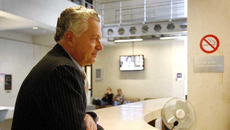 Bram Moszkowicz maakt zijn opwachting bij de tuchtrechter, op 17 oktober. Beeld ANP