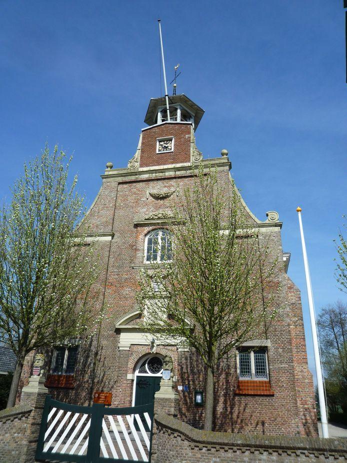 Protestantse kerk in Driewegen.