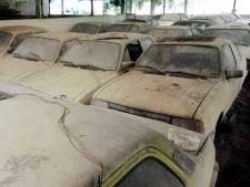 Waarom in deze stal dertig jaar lang bijna honderd taxi's staan weg te kwijnen