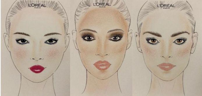 """De gauche à droite: """"Color pop"""", """"Haute nude"""" et """"Hi brow""""."""