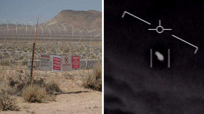 Area 51 & 'Unidentified Flying Object'