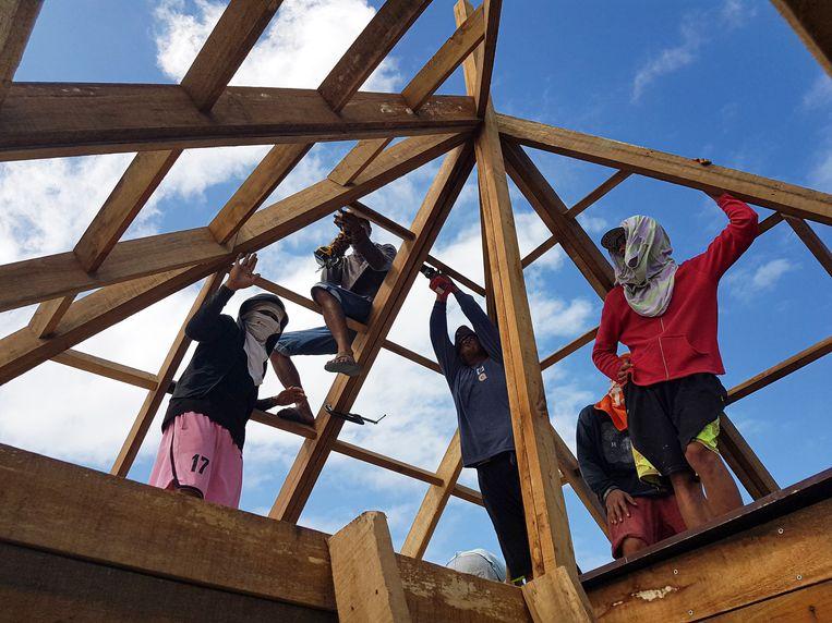 Finch Floating Homes, Project van TU Delft studenten Pieter Ham en Joran van Schaik, samen met Filipijnse aannemers. Beeld Finch Floating Homes