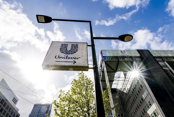 Unilever-gebouw aan het Weena in Rotterdam.