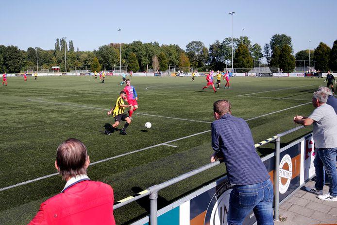 Het sportpark van CDW in Wijk bij Duurstede.