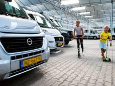 Tekort aan stallingsplek voor campers in regio Utrecht: 'We moeten tien keer op een dag nee verkopen'
