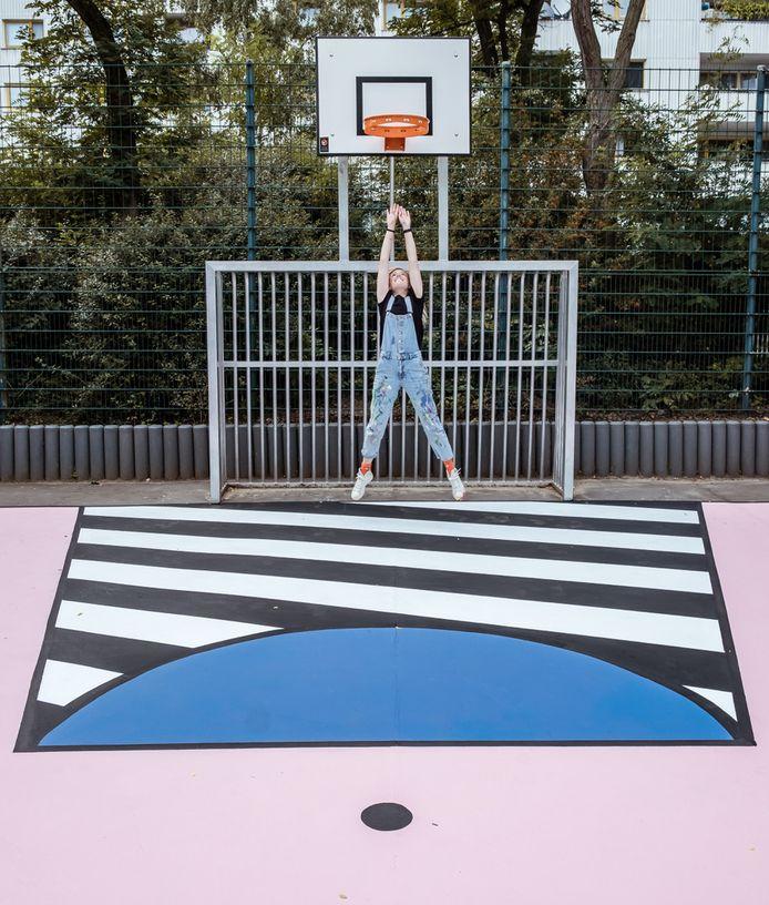 Hypecourt in Berlijn door Katrien Vanderlinden.