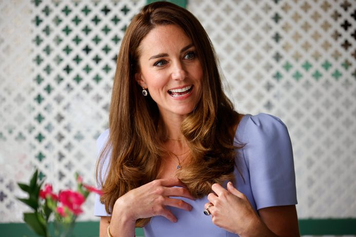 Kate Middleton bij de lancering van The Royal Foundation Centre for Early Childhood in Londen
