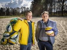 'King of the Beach' moet jongens in Oldenzaal enthousiast maken voor  beachvolleybal