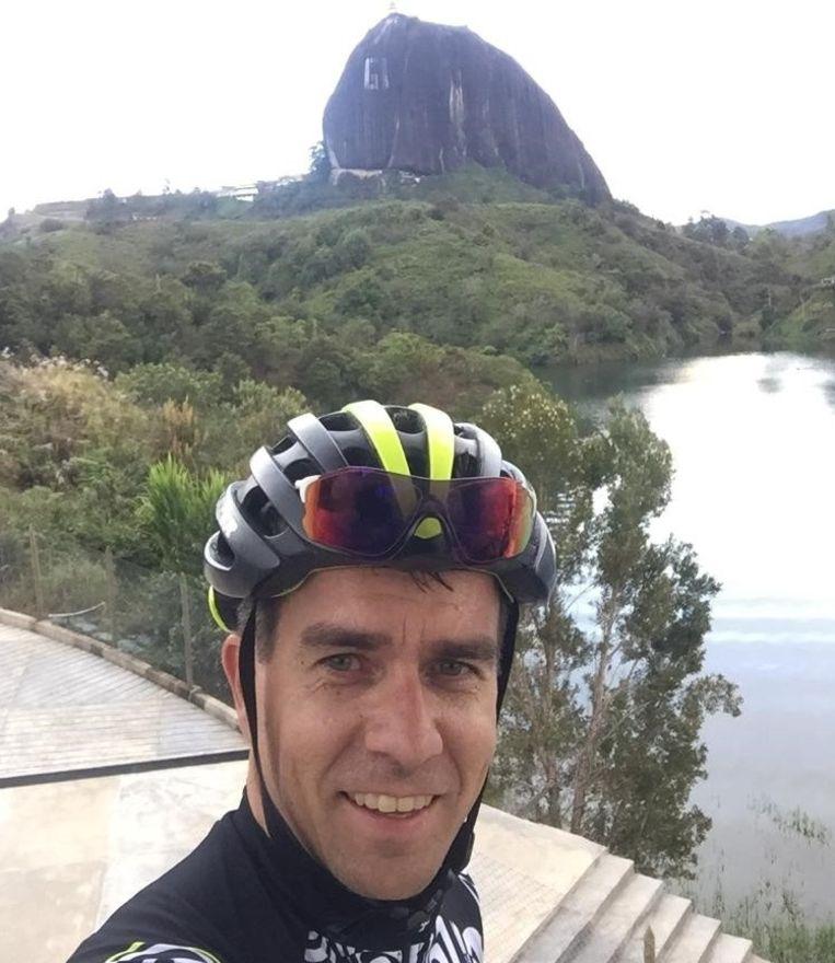 Danny Segers, CEO van Bioracer, in Medellín.