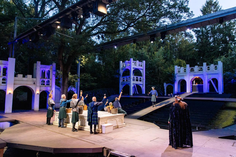 Macbeth + Comedy of Errors van Shakespearetheater Diever. Beeld Marleen Annema