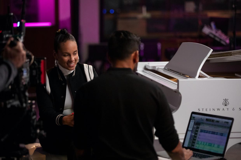 Alicia Keys is een van de gasten in 'Song Exploder'.
