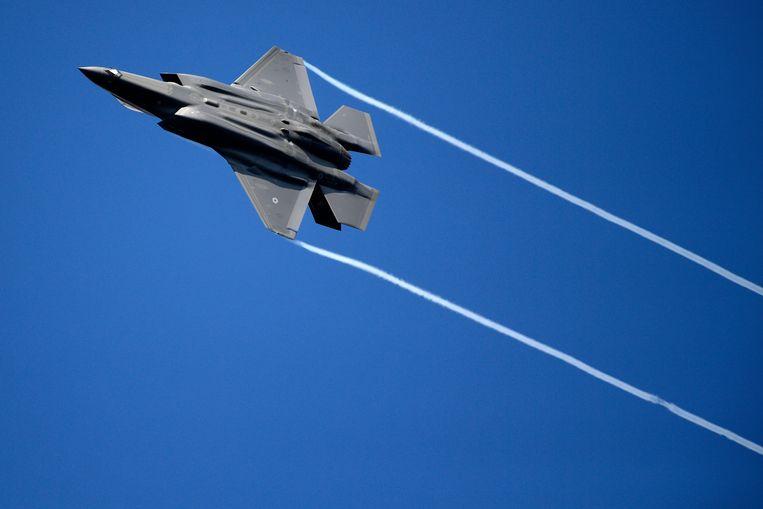 Een F-35 van Lockheed Martin. Beeld BELGA