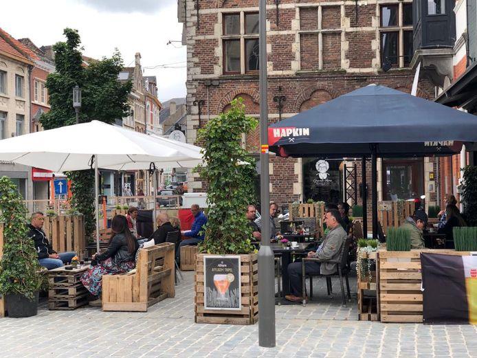 Stad Tienen wil de horeca en lokale handelaars terzijde staan met een 10-puntenplan.
