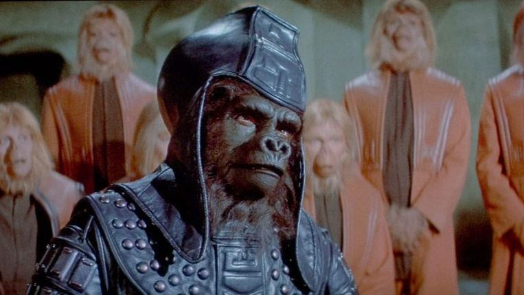 'Beneath the Planet of the Apes' uit 1970. Beeld rv