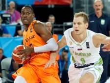 Basketballers na thriller nipt onderuit in Litouwen