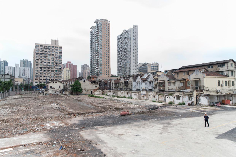 De buurt Wuheli in Shanghai. Beeld Matjaz Tancic