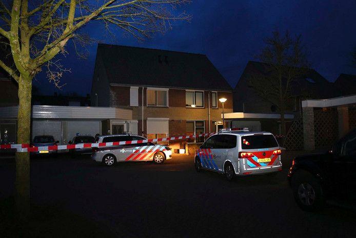 Het politie-onderzoek bij de Osse woning van Bianca van der H.