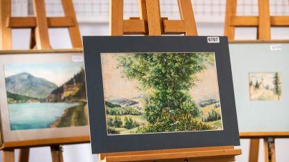 Geen koper te vinden voor omstreden aquarellen van 'A. Hitler'