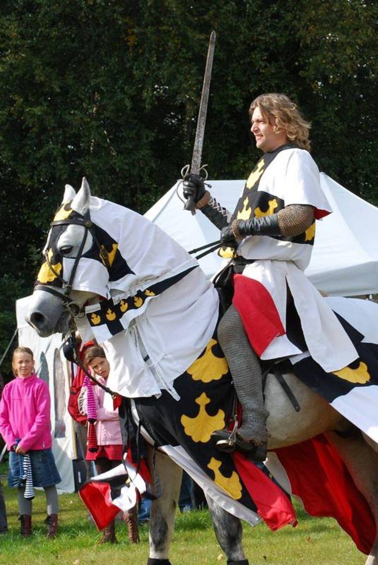 Romeinen, Kelten, Vikingen en ridders zullen demonstraties geven over de leefwijze in hun tijd. Foto Arthur Bouwman Beeld