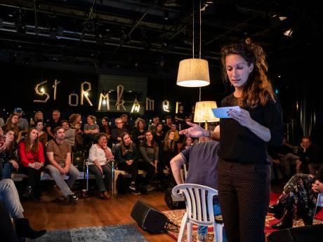 Stormkamer balanceert op grens theater en echtheid: is dit een crimineel of een acteur?