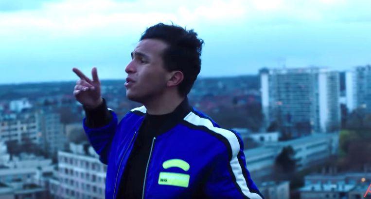 Rapper Soufiane Eddyani. Beeld RV