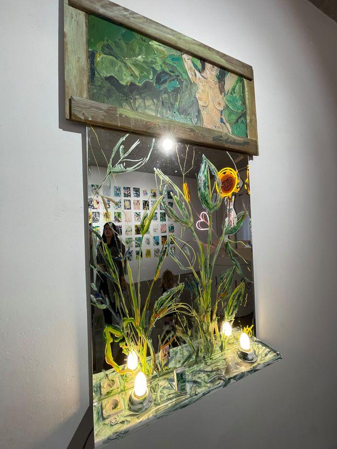 Werk van Elisia Poelman, Maaike Van den Abbeele, Zacharia Testelmans & Luna Verleysen
