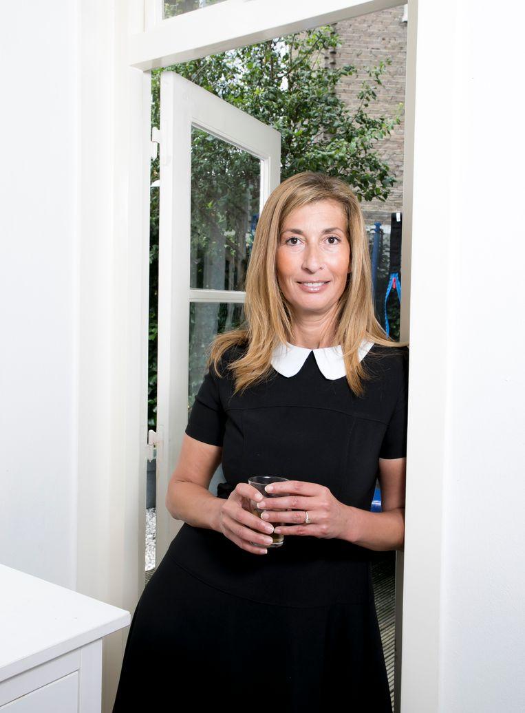 Samira Bouchibti: 'Ga! Hup, uit je cocon, de wijde wereld in'. Beeld judith jockel