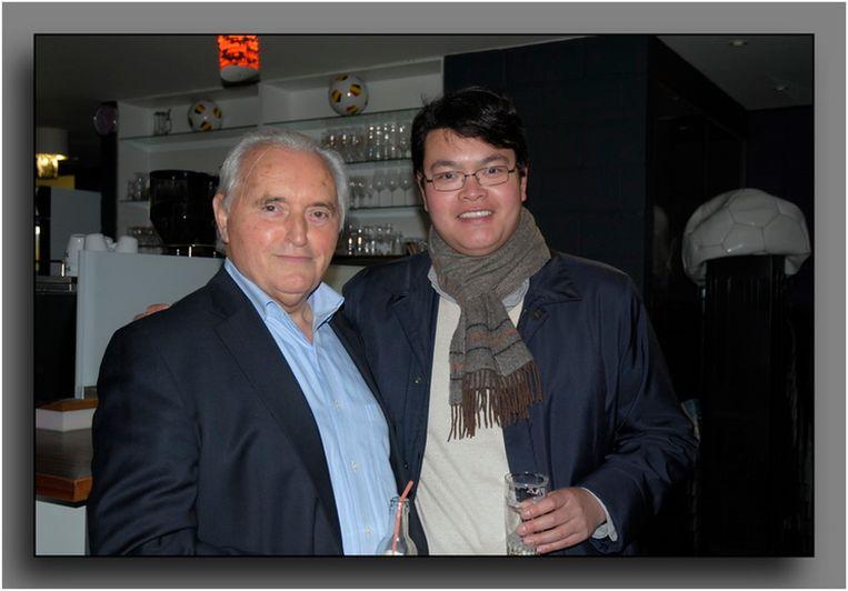 Eind 2016 vond voorzitter Robert Stevens een overnemer voor Patro Eisden: Wayne Woo (37) uit Hongkong.  Beeld Jan Geeroms