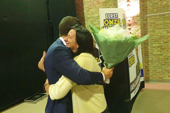Van Langenhove bedankt zijn moeder voor de steun die ze hem altijd gaf.