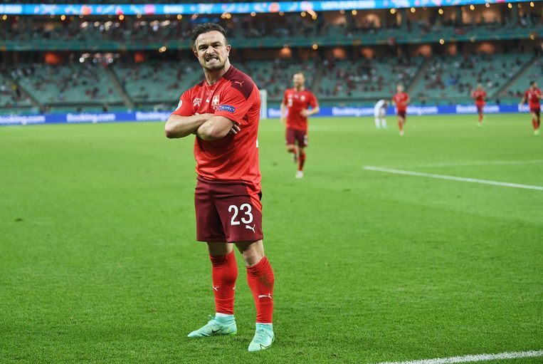 Xherdan Shaqiri, 'de Alpijnse Messi'. Beeld EPA