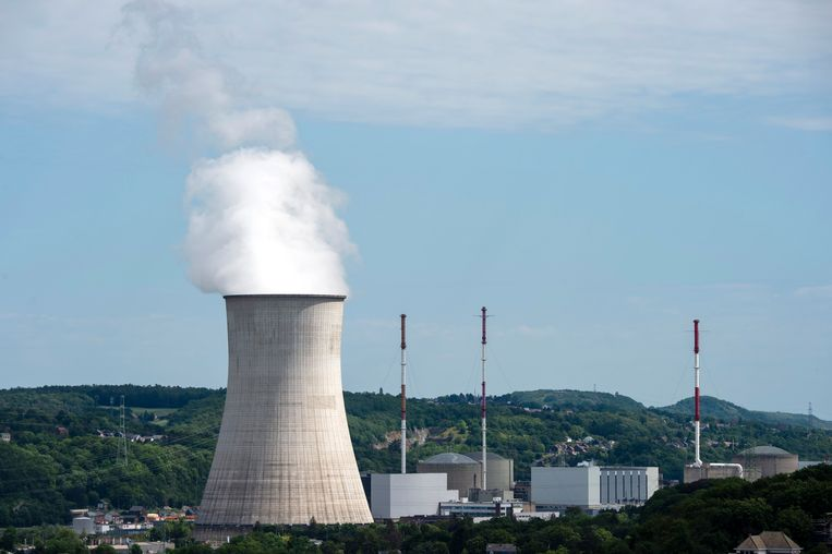 De kerncentrale in Tihange. Archiefbeeld. Beeld Photo News