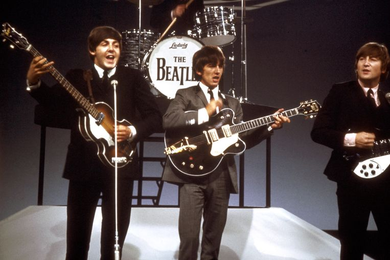 The Beatles. Beeld ANP Kippa