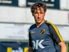 Voormalig NAC-talent Bodi Brusselers (22) stopt met voetballen: 'Ik kon niet meer spelen zonder pijn'