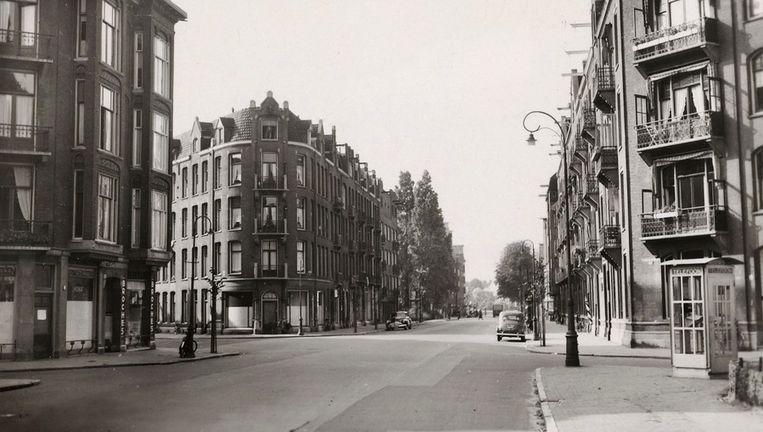 De Andreas Bonnstraat in 1940. Beeld Stadsarchief
