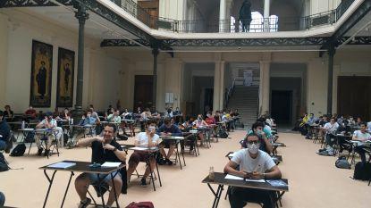 Studenten palmen musea en AB in voor examens