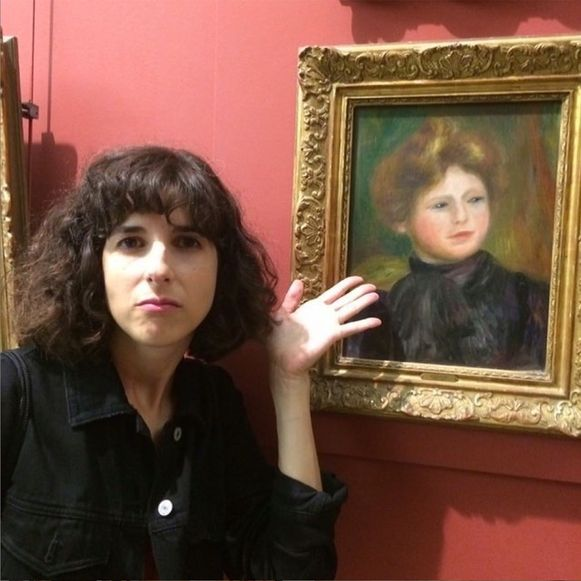 Foto op de Instagram-account 'Renoir Sucks at Painting'.