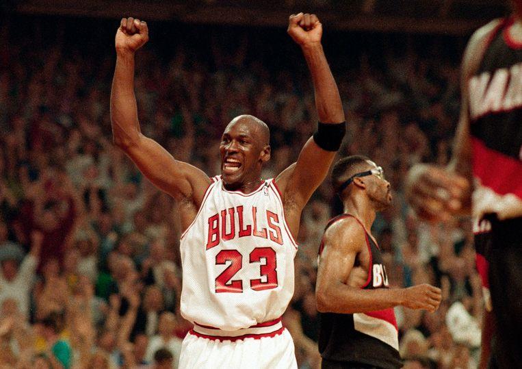 Michael Jordan gaf de NBA een populariteitsboost. Beeld AP