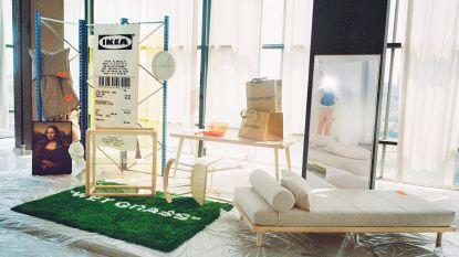 Enkele uren na stormloop in IKEA wordt collectie van Virgil Abloh alweer online verkocht (aan het dubbele van de prijs)