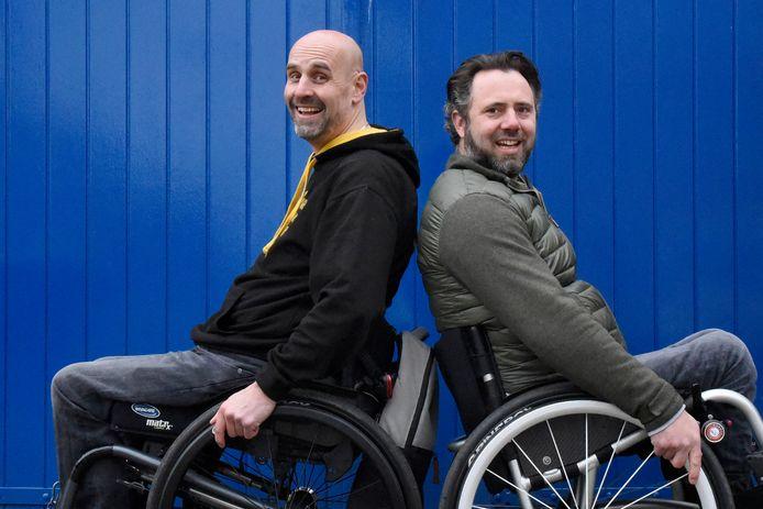 De WheelChair Mafia: Frank Sanders en Thomas Maas.