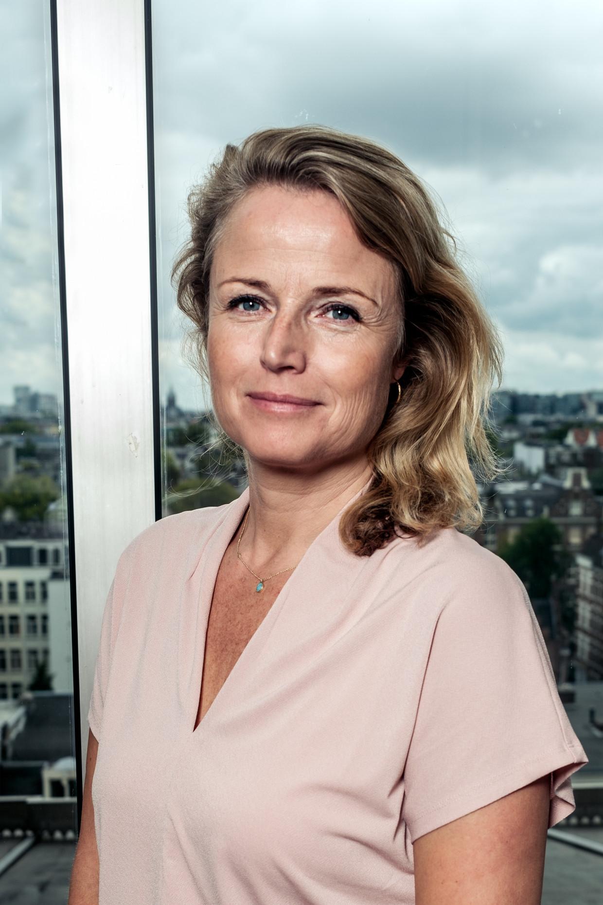 Anja Schreijer. Beeld Jakob van Vliet