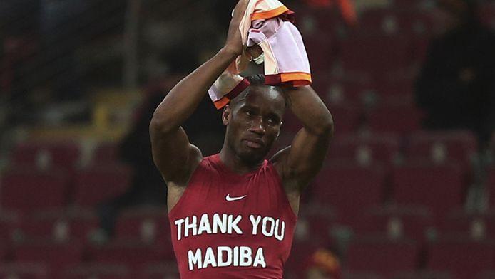 Didier Drogba komt uit het Afrikaanse Ivoorkust.