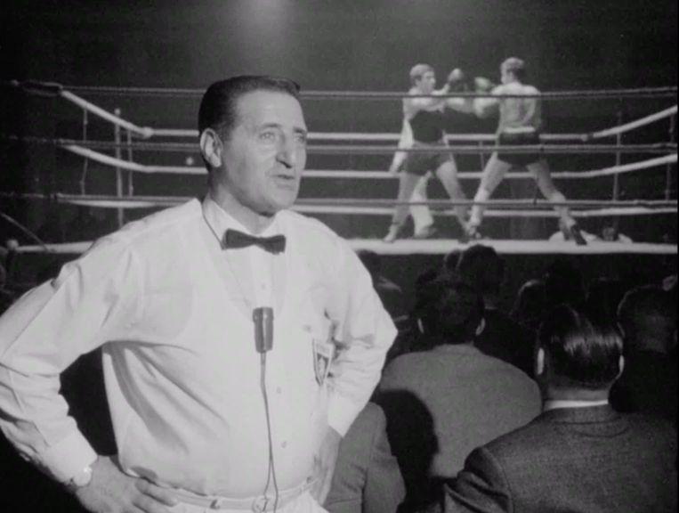 Ben Bril, bokser en later scheidsrechter. Beeld Andere Tijden Sport