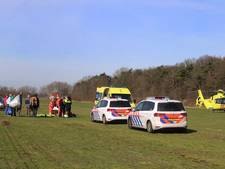 Paraglider crasht op zweefvliegveld Nistelrode