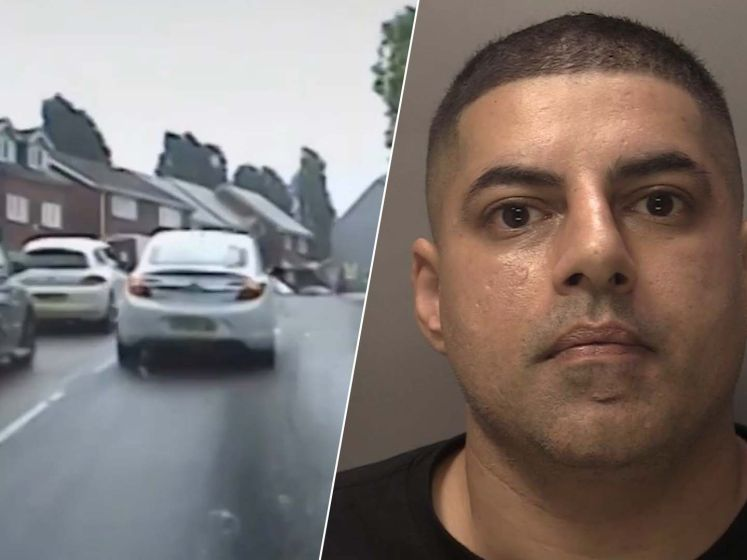 Door het rood, op verkeerde rijstrook en dubbel zo snel als mag: dronken bestuurder neemt politie mee op dollemansrit