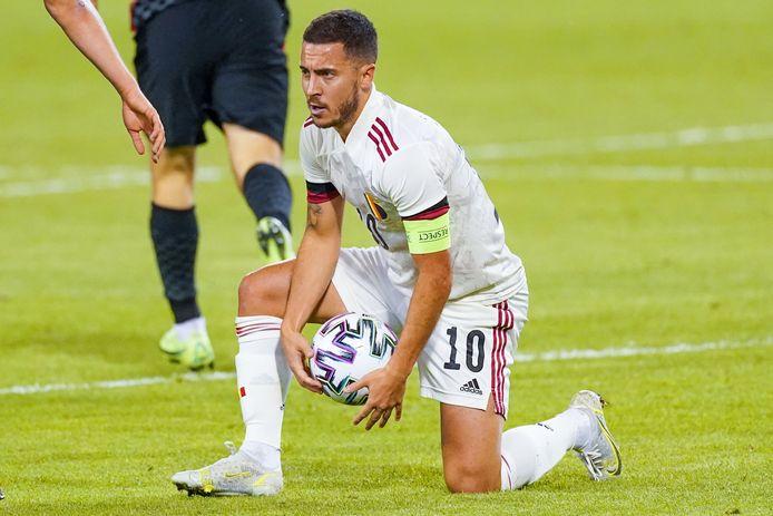 Eden Hazard titulaire contre la Russie?