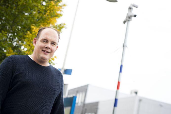 Mathijs Ottenschot was twee jaar geleden een van de initiatiefnemers van het camerasysteem.