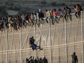 50 migranten raken na bestorming Spaanse enclave Melilla binnen, 8 gewonden